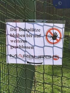 Sperrung Spiel und Bolzplatz 2©Hubert Detriche