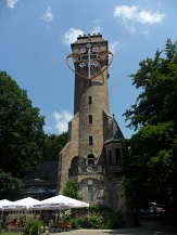 Spiegelslust-Turm im Sommer©Universitätsstadt Marburg - Kerstin Hühnlein