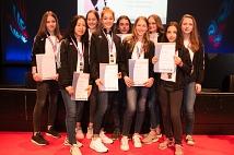 Silber- und Bronze-Medaillen gab es für die Sportlerinnen des Taekwondo Vereins Marburg.