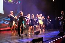 Die Tänzer*innen der TSG bei ihrer fulminanten Performance.