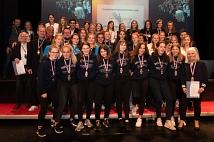 Die Marburger Basketballer*innen wurden für verschiedene Erfolge mit Gold, Silber und Bronze ausgezeichnet.