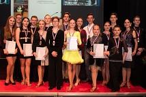 Tänzer*innen der TSG bekamen Bronze-Medaillen für ihre Erfolge bei den Hessischen Landesmeisterschaften.