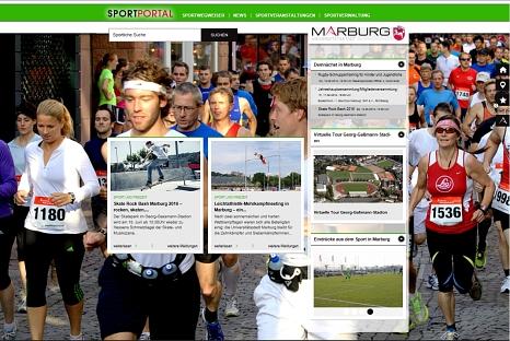 Sportportal der Universitätsstadt Marburg©Fachdienst Sport