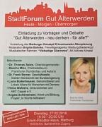 Stadt Forum - Gut Älterwerden