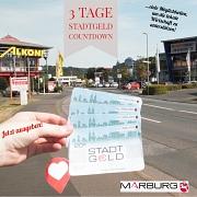 Bis zum 15. August läuft der Stadt-Geld-Countdown auf der Facebook-Seite und im Instagram-Kanal der Stadt Marburg.