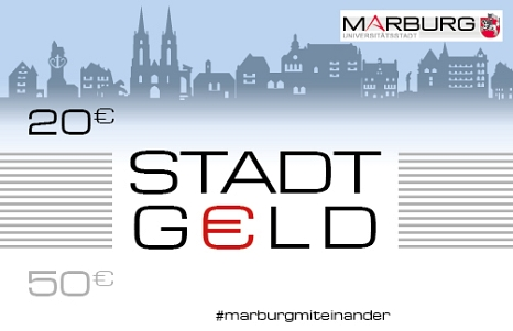 Stadt-Geld-Gutschein Querformat 20€©Universitätsstadt Marburg