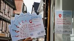 Stadt-Geld: Rund 500 Betriebe machen beim Stadt-Geld mit. Die Marburger*innen haben noch knapp eine Million Euro übrig, die sie dort ausgeben können.