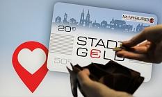 Stadt-Geld: Rund 500 Betriebe machen beim Stadt-Geld mit. Die Marburger*innen haben noch knapp eine Million Euro übrig, die sie dort ausgeben können.©Stefanie Profus, i.A.d. Stadt Marburg