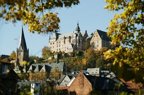 Schlossblick©Universitätsstadt Marburg