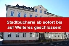Die Stadtbücherei ist ab sofort bis auf Weiteres geschlossen!©Universitätsstadt Marburg