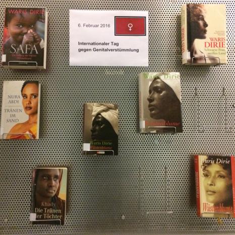 """""""Null Toleranz gegenüber weiblicher Genitalverstümmelung""""©Universitätsstadt Marburg"""