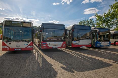 Stadtbusse©Patricia Grähling, Stadt Marburg