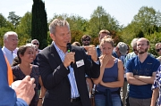 """""""Was wir heute machen, gab es noch nicht in Marburg"""", begrüßte OB Dr. Thomas Spies die große Runde."""
