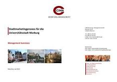 Stadtmarketingkonzept Titelbild©Universitätsstadt Marburg