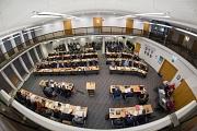 Die Stadtverordnetenversammlung tagt am Freitag im Sitzungssaal Barfüßer Straße 50.