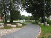 Stadtwaldpark, Eingang Carl-von Ossietzky-Str. in Ockershausen