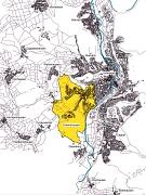 Städtebauliche Rahmenplanung Ockershausen, Lage im Gebiet