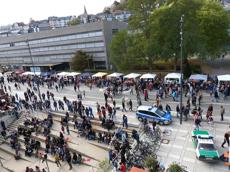 Stände am Tag der Deutschen Einheit – Tag der kulturellen Vielfalt©Universitätsstadt Marburg