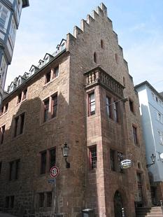 Der Sitz des Fachdienst Schule. Das Steinerne Haus in Marburg.©Universitätsstadt Marburg