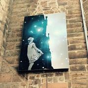 Lichtkunst an der Universitätskirche