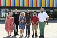 Stipendiaten und Ansprechpartner*innen 2019©Georg Kronenberg