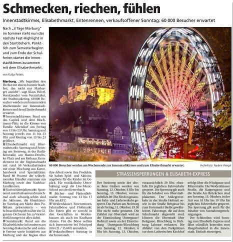 .©Oberhessische Presse, Ausgabe vom 07.10.2019