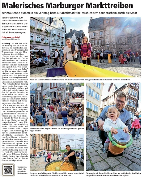 .©Oberhessische Presse, Ausgabe vom 15.10.2019
