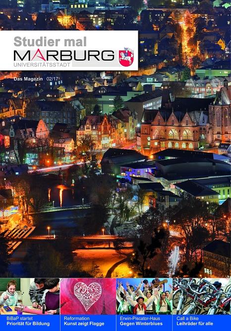 Studier mal Marburg 2/2017©Universitätsstadt Marburg