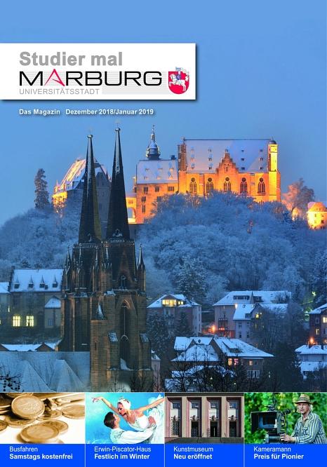 Das neue Studier mal Marburg ist da.©Universitätsstadt Marburg