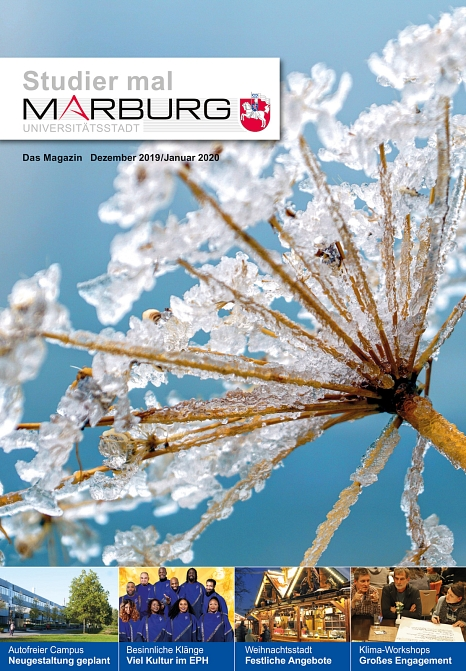 Studier mal Marburg Dezember 2019/Januar 2020©Universitätsstadt Marburg
