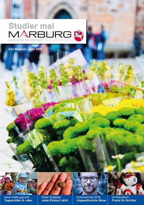 Studier mal Marburg Juni 2018©Universitätsstadt Marburg