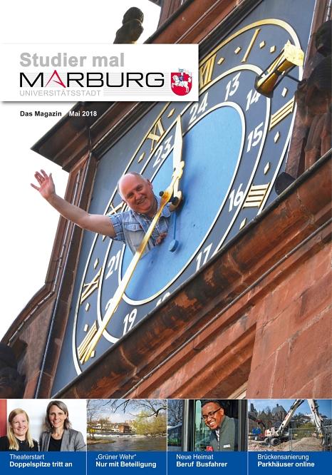 Studier mal Marburg Mai 2018©Universitätsstadt Marburg