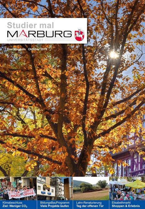 Studier mal Marburg Oktober 2019©Universitätsstadt Marburg