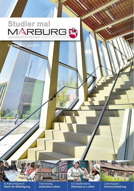 Juni-Ausgabe des Stadtmagazins Studier mal Marburg©Universitätsstadt Marburg
