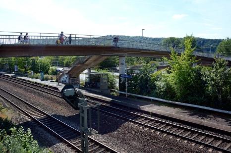 Der Südbahnhof wird barrierefrei. Bürger*innen können im Vorfeld auf der städtischen Beteiligungsplattform MarburgMachtMit.de Informationen einholen und Fragen stellen.©Nadja Schwarzwäller i.A.d. Stadt Marburg