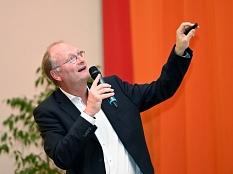 Sven Plöger spricht im TTZ über Klimawandel - Gute Aussichten für morgen.©Georg Kronenberg