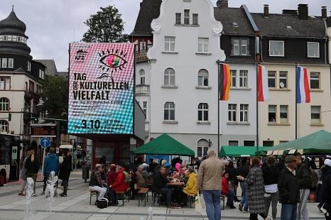 Tag der Deutschen Einheit – Tag der kulturellen Vielfalt am Samstag 3. Oktober©Universitätsstadt Marburg