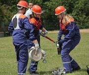 Beim Tag der Marburger Feuerwehr zeigen traditionell die Jugendfeuerwehren ihren Ausbildungsstand.