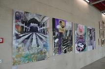 Die Künstler Julia Kneise (Eisenach) und Richard Stumm (Marburg) waren in der jeweils anderen Partnerstadt zu Gast und haben ihre Eindrücke festgehalten: Die Ausstellung