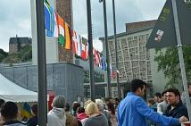 Menschen aus 140 Nationen leben in Marburg friedlich und im Austausch zusammen - das war auch beim Fest zum 3. Oktober spürbar.