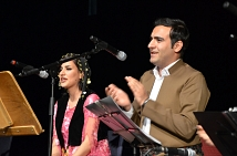 Die kurdisch-iranische Musik- und Gesangsgruppe Jouan begeisterte die Marburgerinnen und Marburger im Großen Saal des Erwin-Piscator-Hauses.