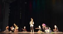 Der große Saal des Erwin-Piscator-Hauses war über Stunden hinweg gut besucht. Dazu beigetragen haben rund ein Dutzend Tanz- und Musikgruppen. Hier: Kereshmeh.