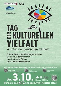 Tag der kulturellen Vielfalt, 03.10.21©Universitätsstadt Marburg