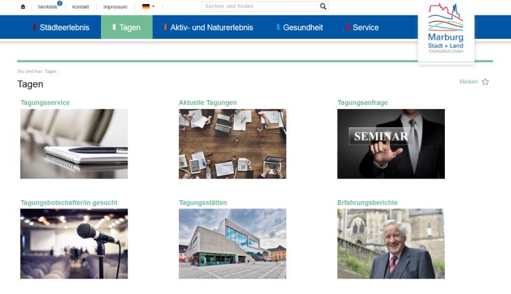 Homepage, Tagen©Marburg Stadt und Land Tourismus