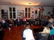 Unterhaltsame Talkrunde mit den Autoren und zahlreichen Fragen aus dem Publikum.