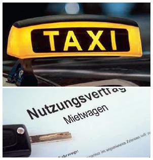 Taxi - aber sicher!©Universitätsstadt Marburg