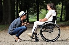 Teilhabe Frauen mit Behinderung©Pexels
