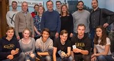 Teilnehmer der Pressekonferenz zum Thema freies W-LAN©Universitätsstadt Marburg