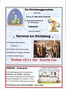 Termine Richtsberggemeinde e.V. März-April-2019
