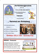 Termine Richtsberggemeinde e.V. März-April-2019